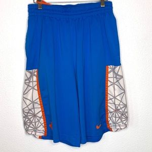 Nike Dri Fit KD Basketball shorts blue Size M